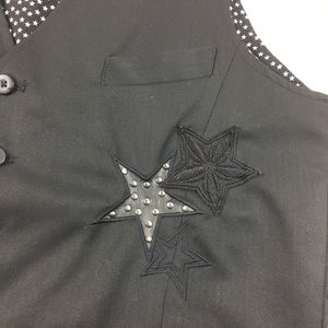 authentic icon Suits & Blazers - * Ai Authentic Icon Black Star Men's Business Vest